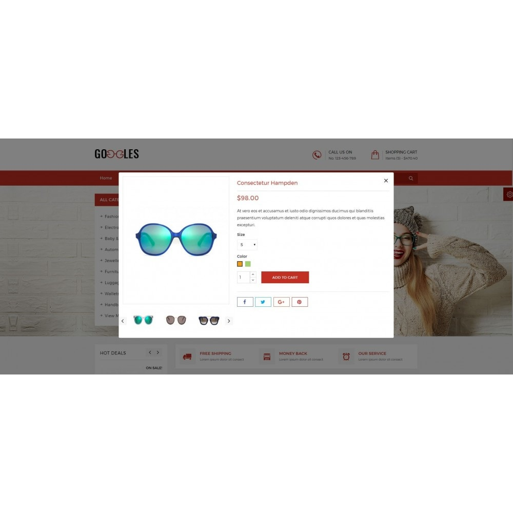 theme - Mode & Schoenen - Goggles Shop - 7