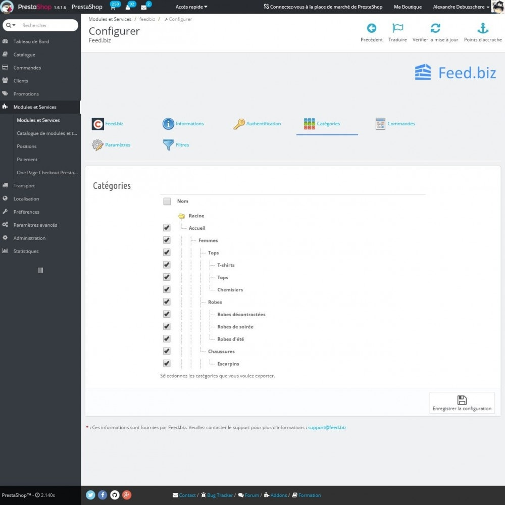 module - Marketplaces - Feed.biz (Intégration Amazon, eBay, Google, Mirakl) - 8