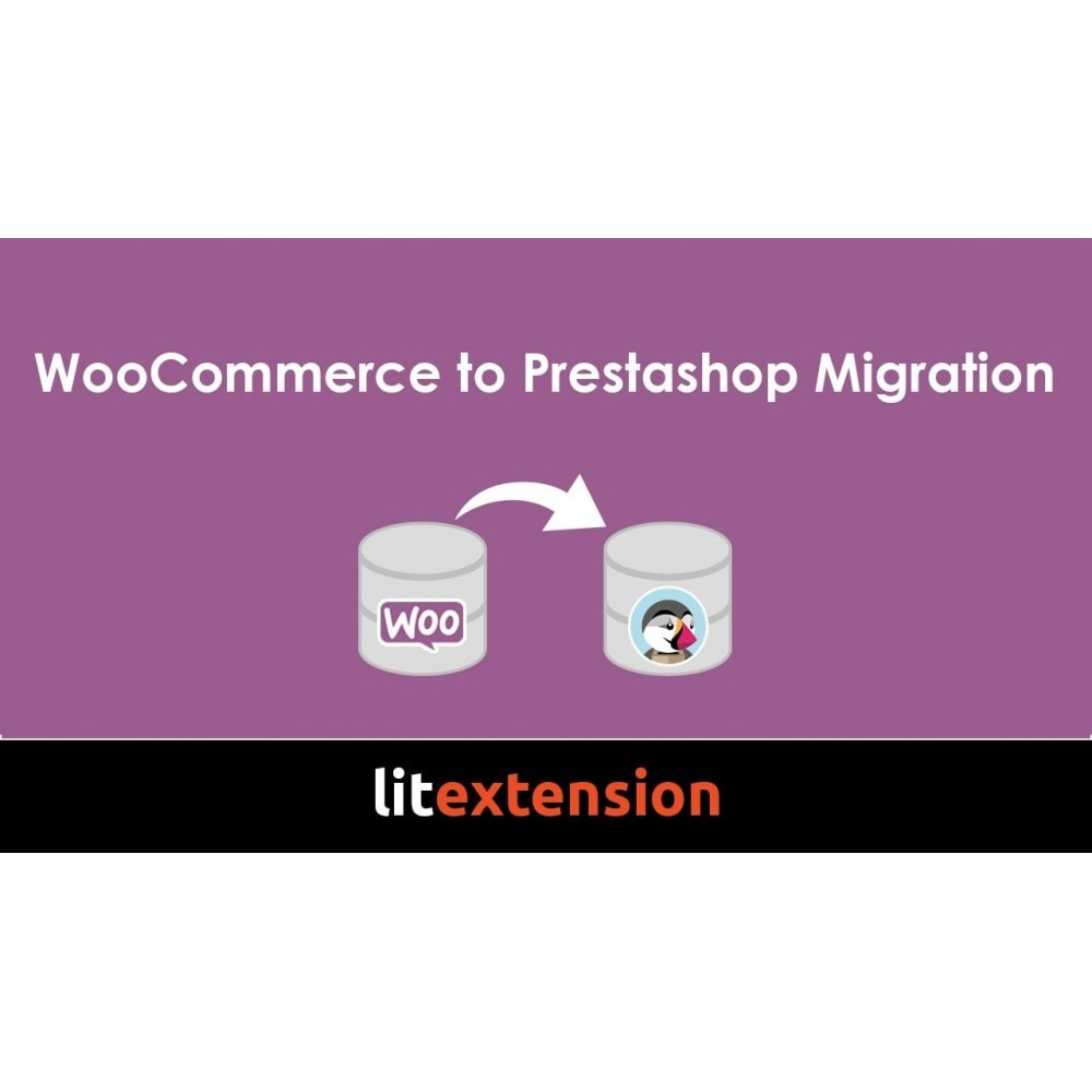 module - Migracja & Backup - LitExtension: WooCommerce to Prestashop Migration - 1