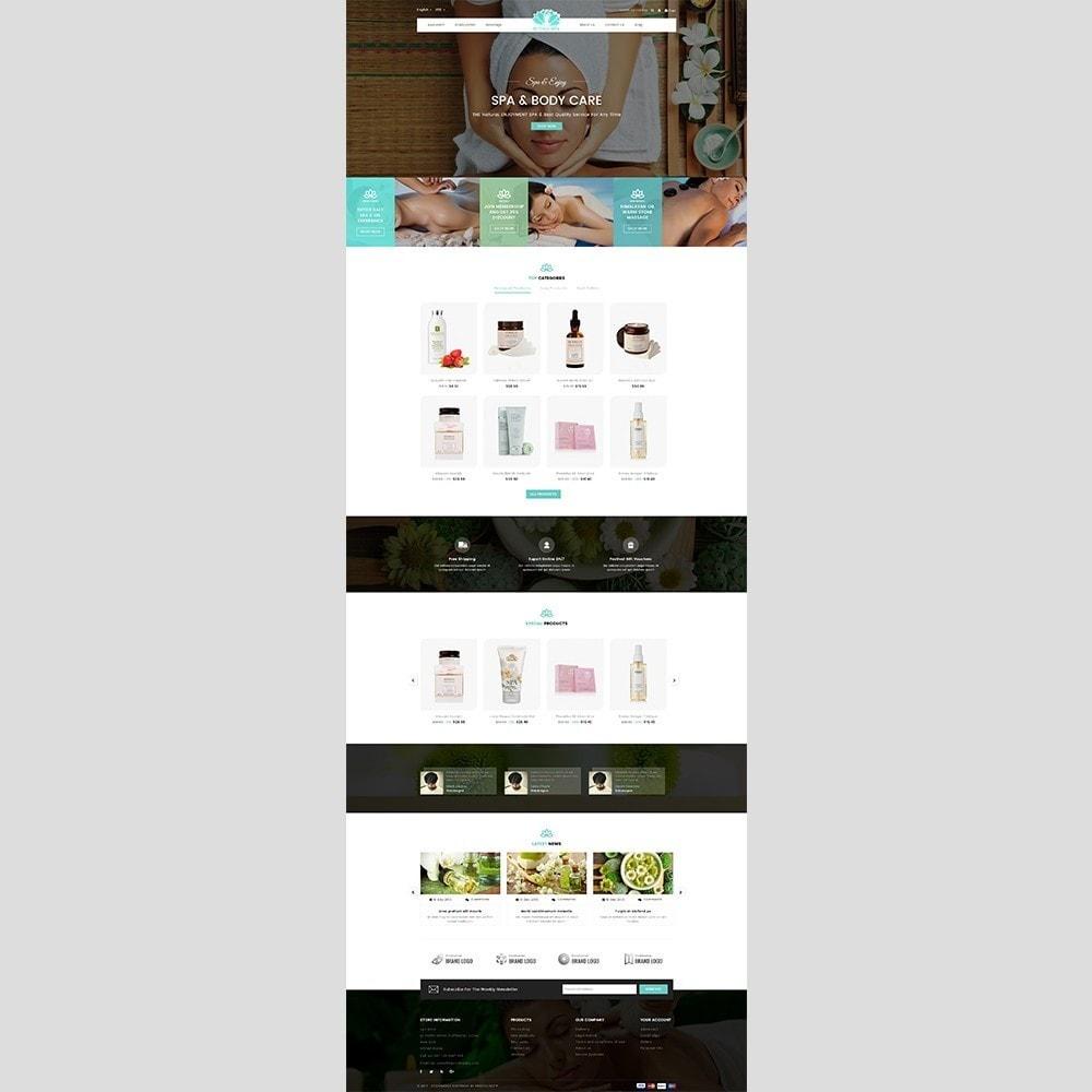 theme - Health & Beauty - Budha Spa - 2