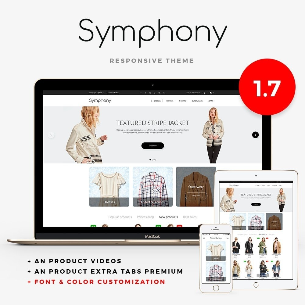 theme - Mode & Schoenen - Symphony - High-tech Shop - 1