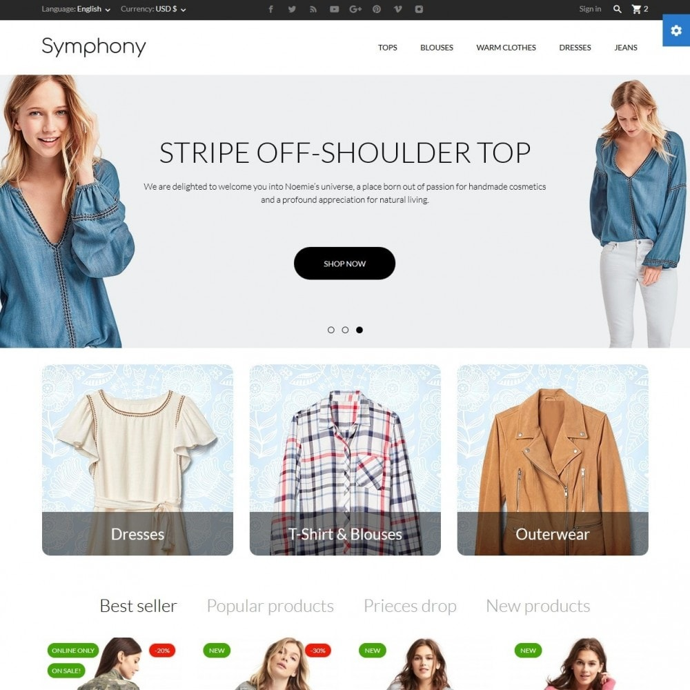 theme - Fashion & Shoes - Symphony - High-tech Shop - 2