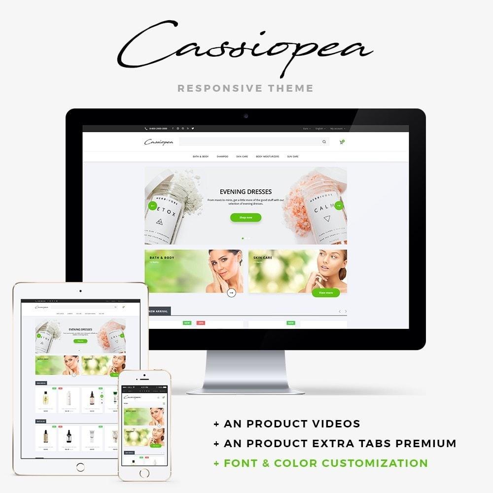 theme - Santé & Beauté - Cassiopea Cosmetics - 1