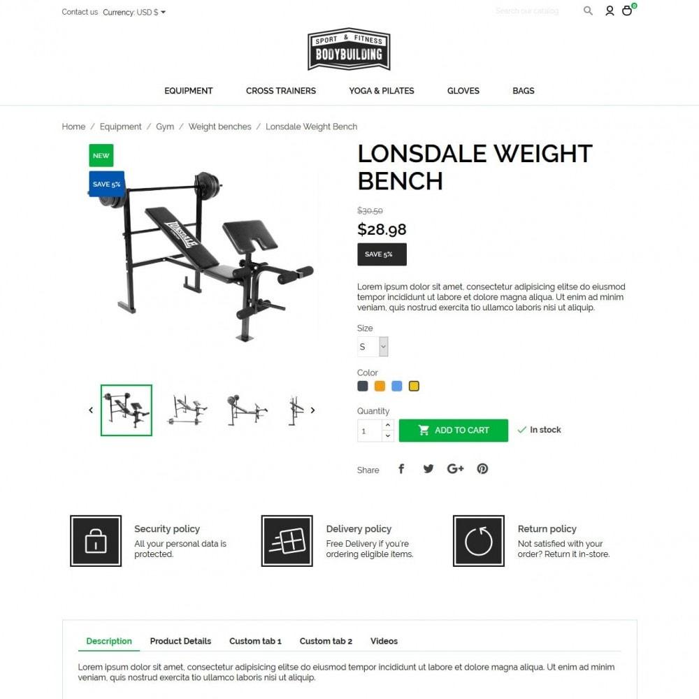 theme - Sport, Attività & Viaggi - Bodybuilding - 6