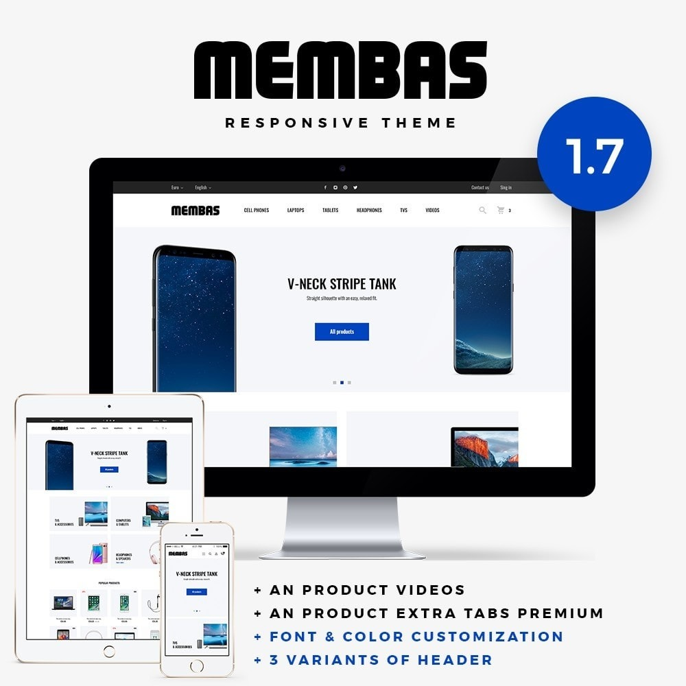theme - Elektronika & High Tech - Membas - High-tech Shop - 1