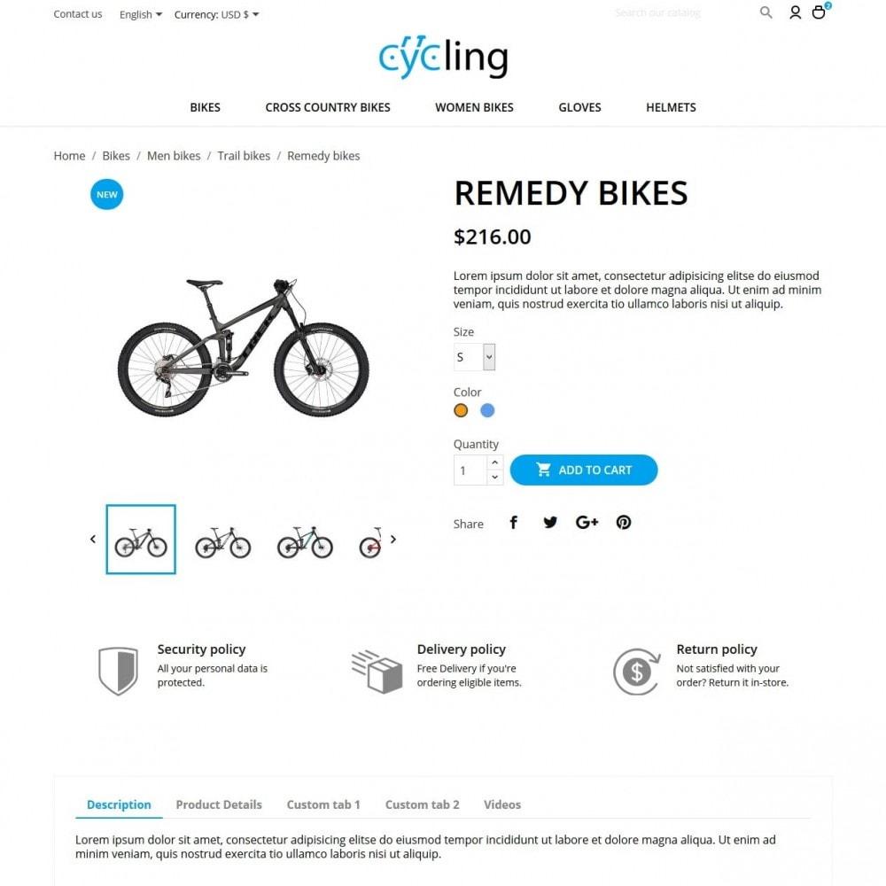 theme - Sport, Loisirs & Voyage - Cycling - 6