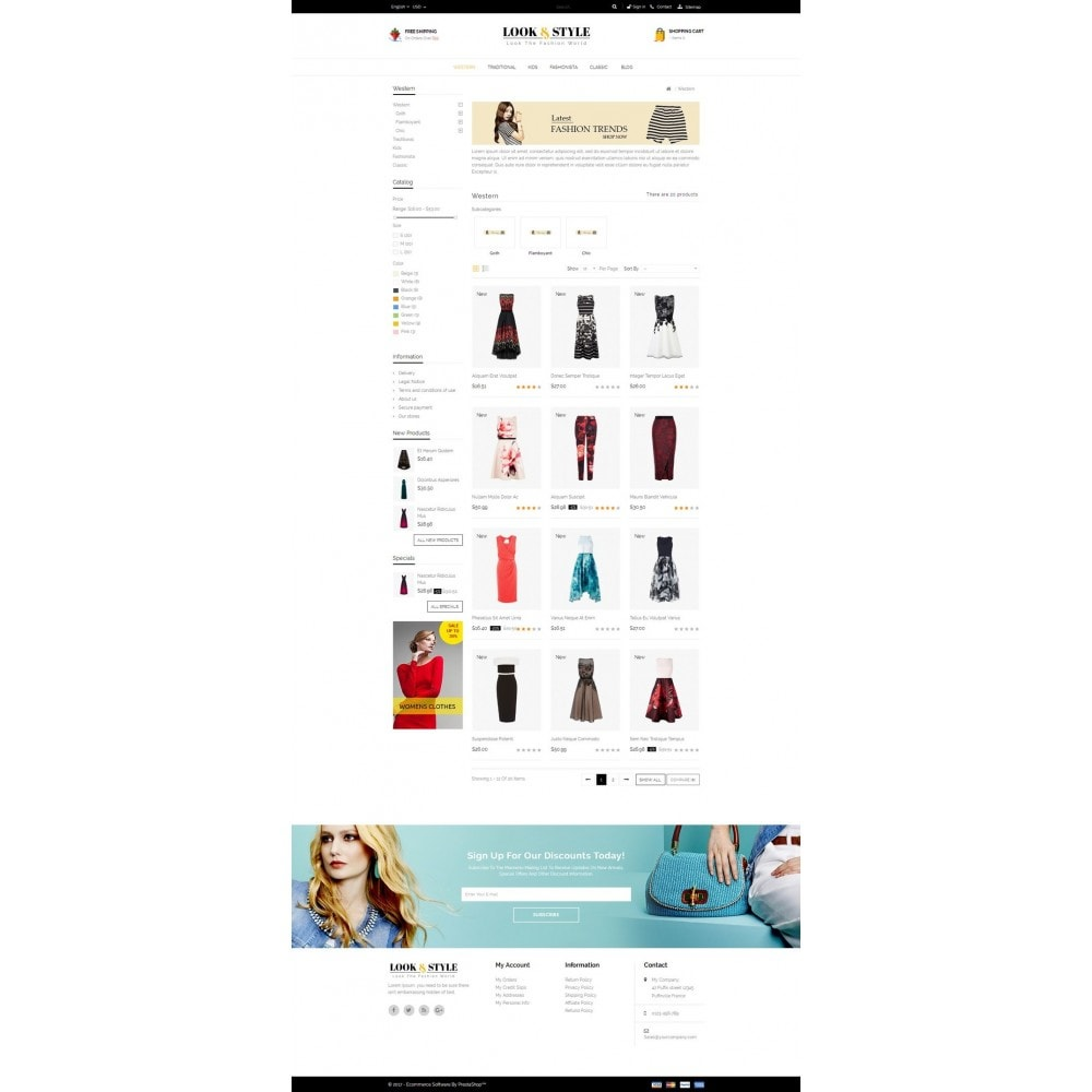 theme - Мода и обувь - Look & Style - Fashion Store - 3