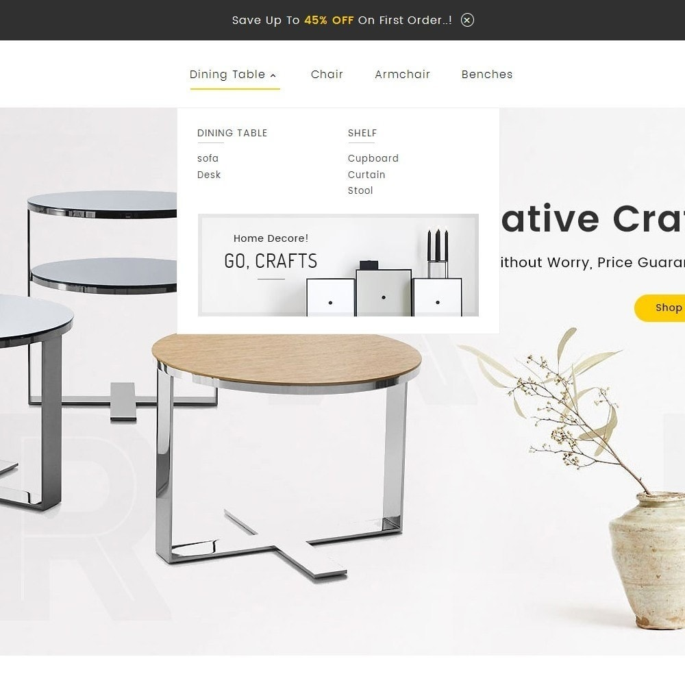 theme - Maison & Jardin - Craft Furniture Store - 9