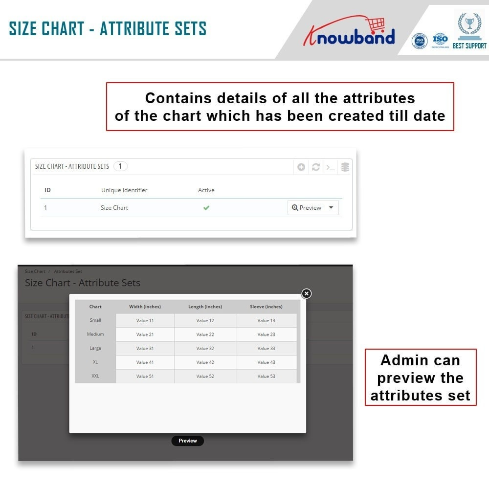 module - Additional Information & Product Tab - Knowband - Product size chart - 3