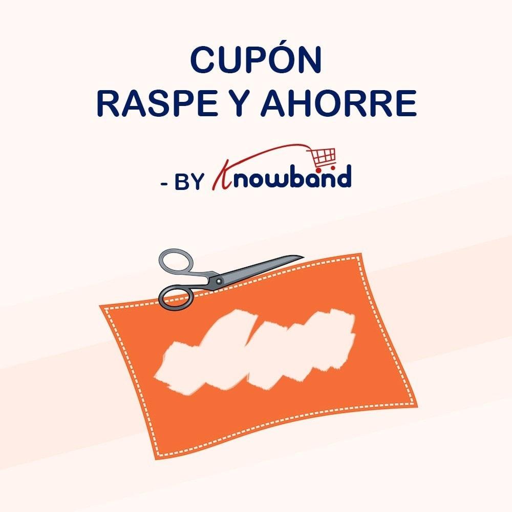 module - Concurso - Knowband - Cupón Raspe y Ahorre - 1