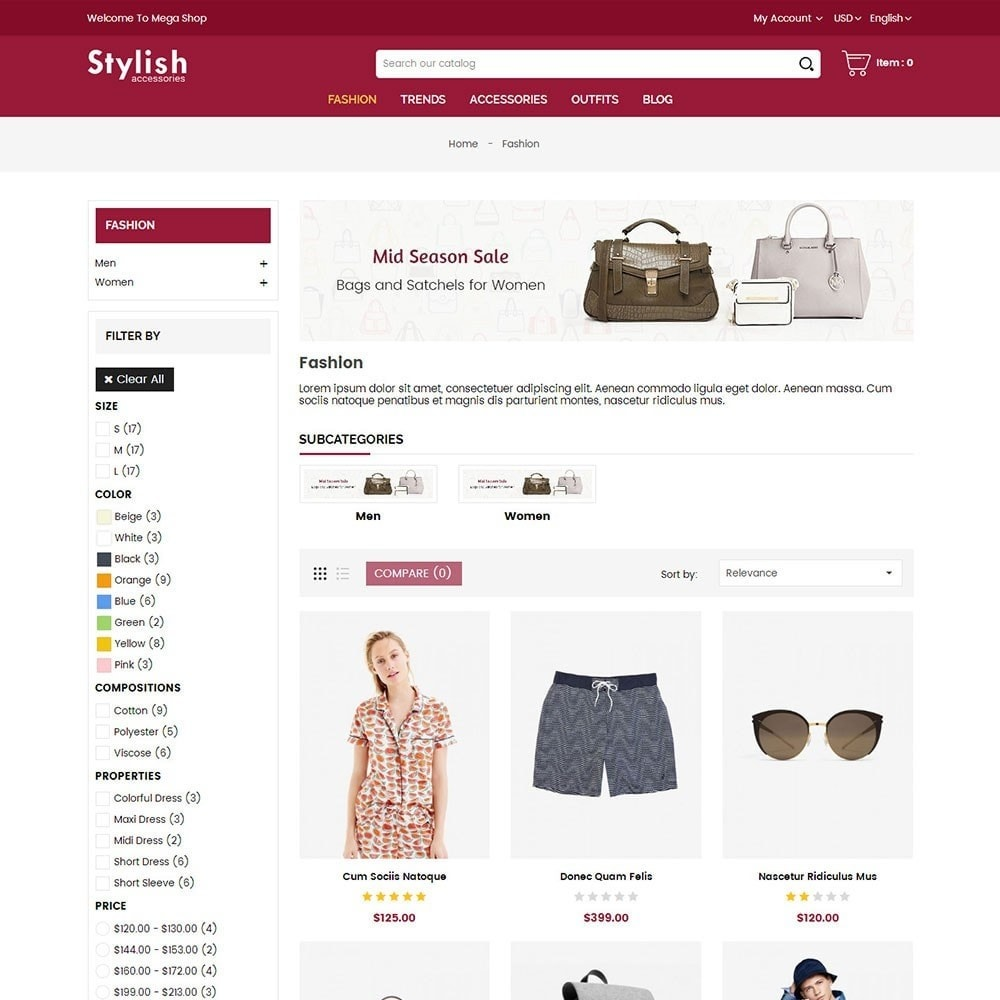 theme - Мода и обувь - Stylish Fashion Store - 3