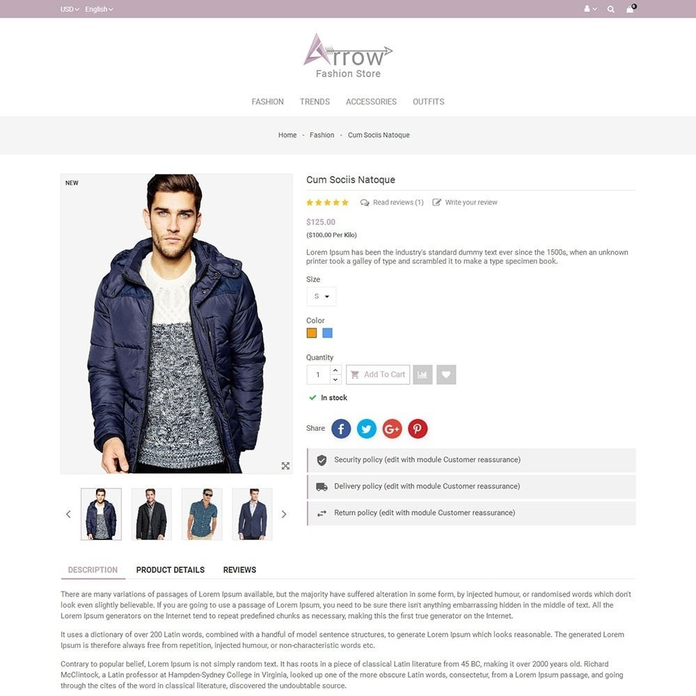 theme - Fashion & Shoes - Arrow Fashion Store - 5