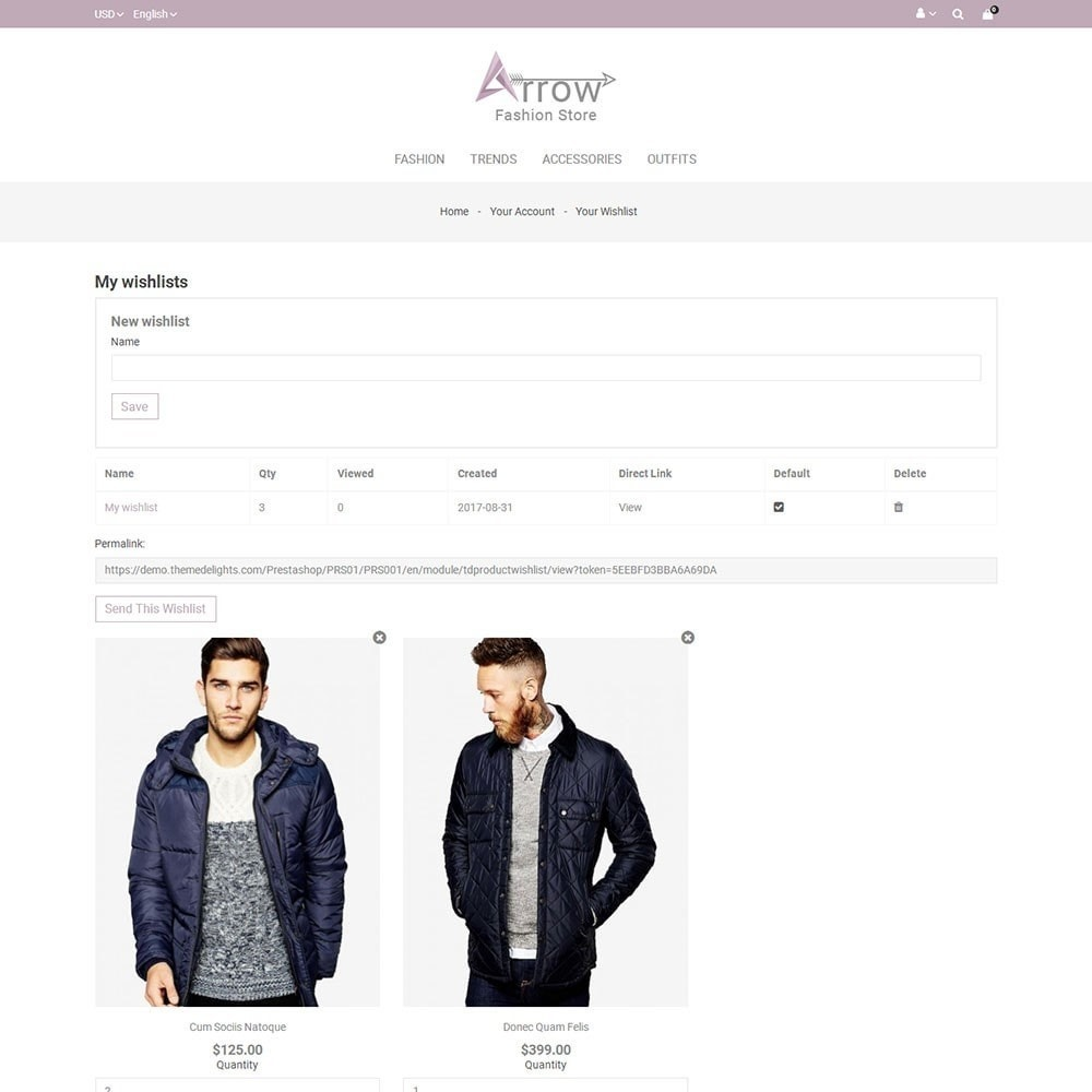 theme - Fashion & Shoes - Arrow Fashion Store - 8