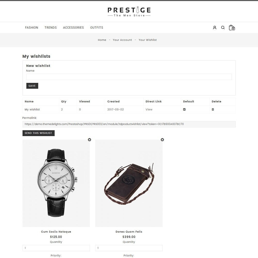 theme - Mode & Chaussures - Prestige Fashion Store - 8
