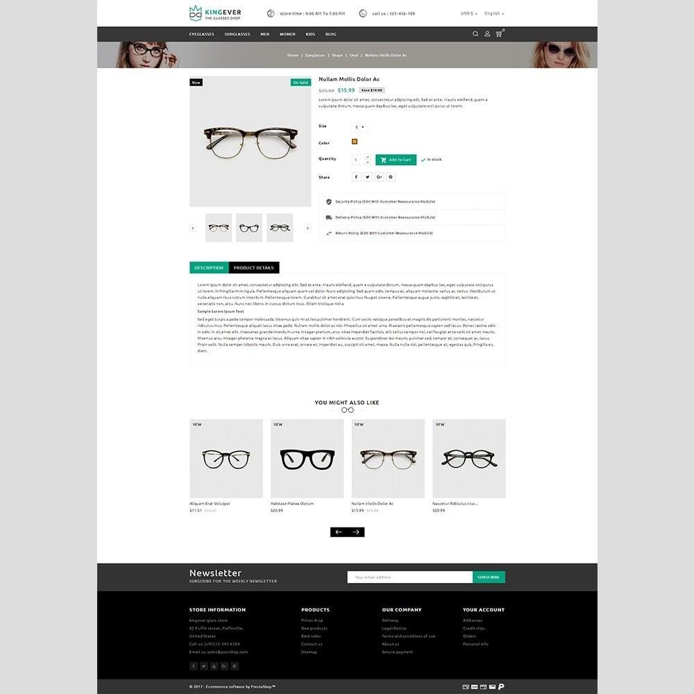 theme - Sports, Activities & Travel - Kingever glasses store - 4