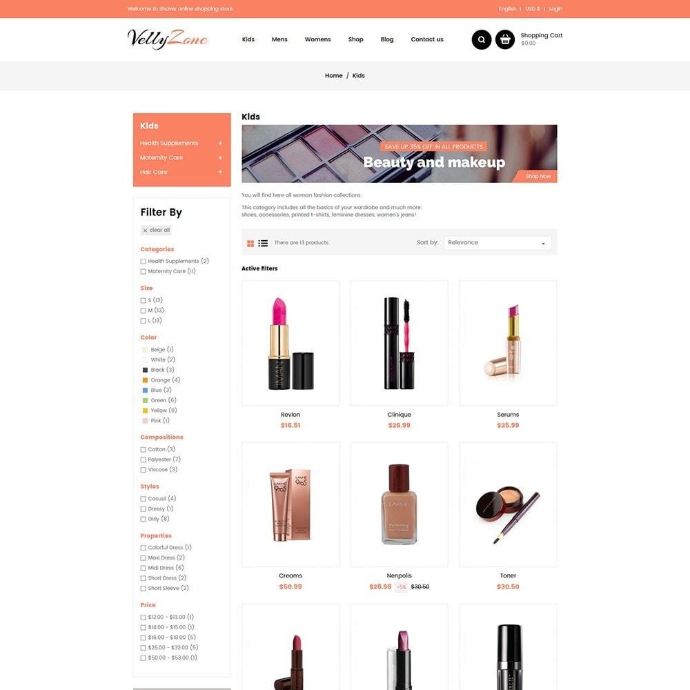 theme - Zdrowie & Uroda - Vellyzone - Cosmetics  Store - 3