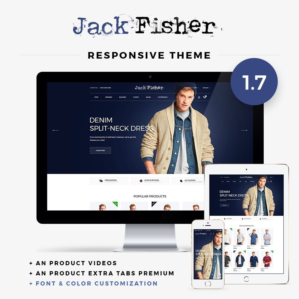 theme - Moda & Calzature - Jack Fisher Men's Wear - 1
