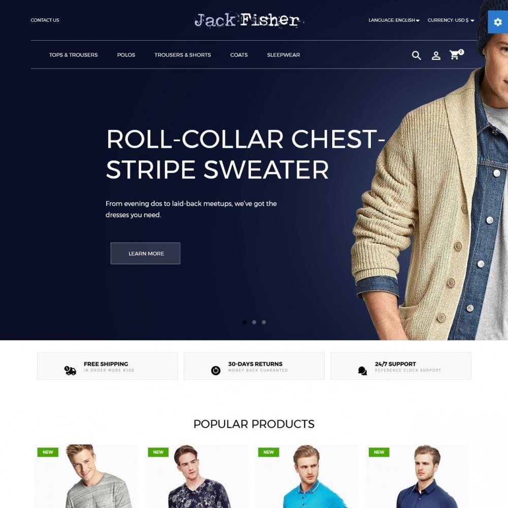 theme - Moda & Calzature - Jack Fisher Men's Wear - 2