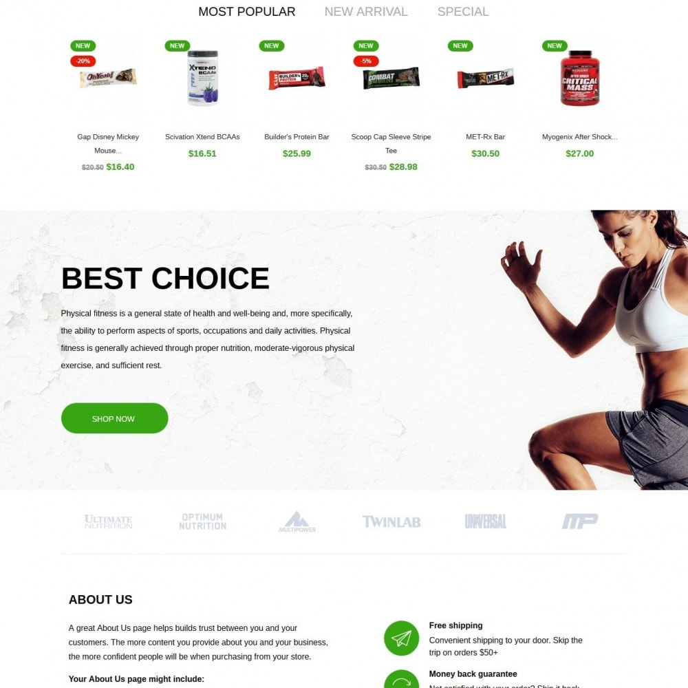 theme - Sports, Activities & Travel - Sport&Fitness - 3