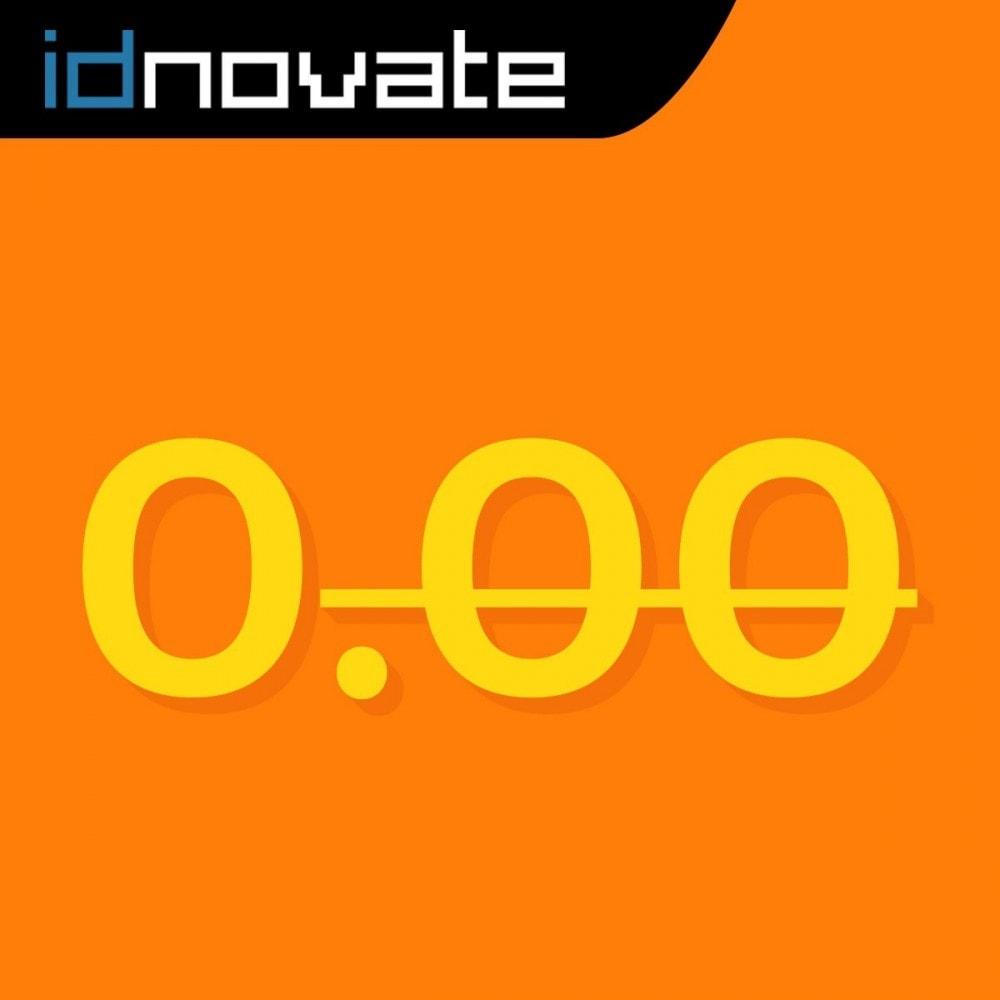 module - Gestión de Precios - Formato de moneda y modificación de decimales - 1