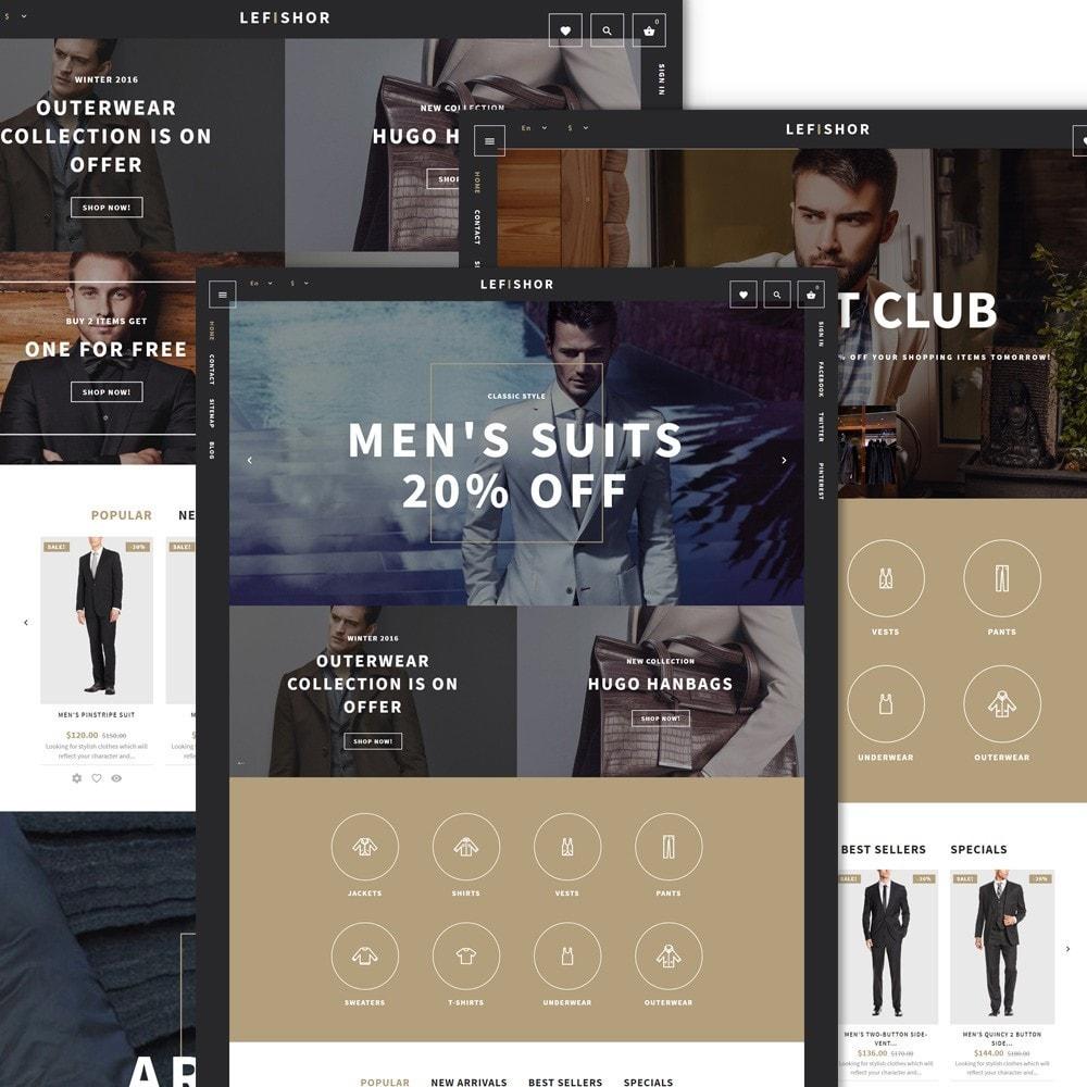 theme - Moda y Calzado - Lefishor - Tema de PrestaShop para Sitio de Moda - 2