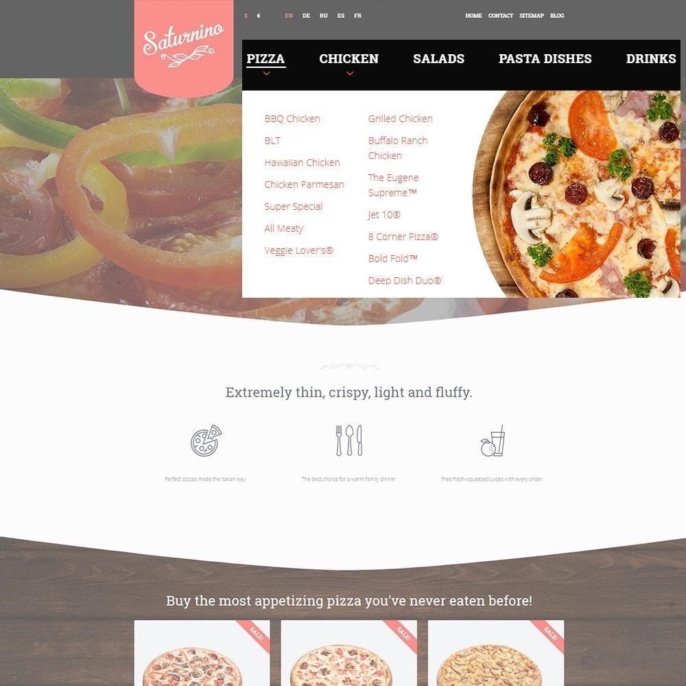theme - Gastronomía y Restauración - Tema de PrestaShop para Sitio de Pizzerías - 4