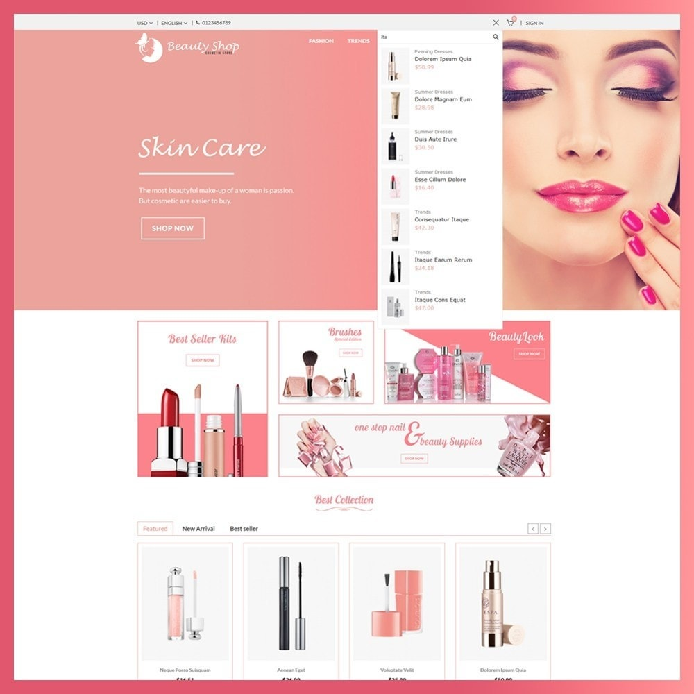 theme - Health & Beauty - Beauty Cosmetic store - 5