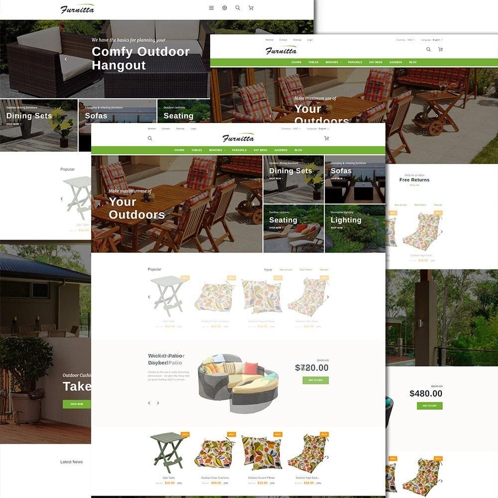 theme - Maison & Jardin - Furnitta - Mobilier d'extérieur thème PrestaShop - 3