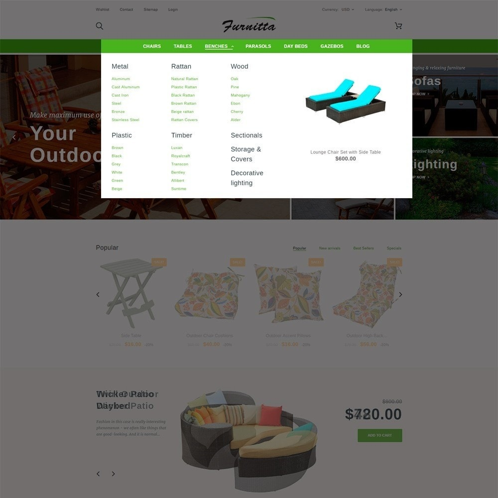 theme - Дом и сад - Furnitta - магазин садовой мебели - 5