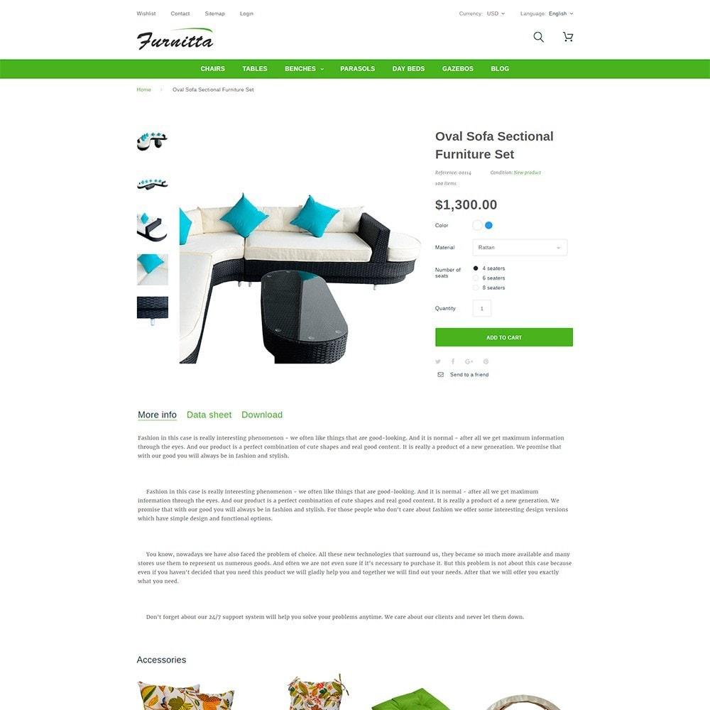 theme - Дом и сад - Furnitta - магазин садовой мебели - 6