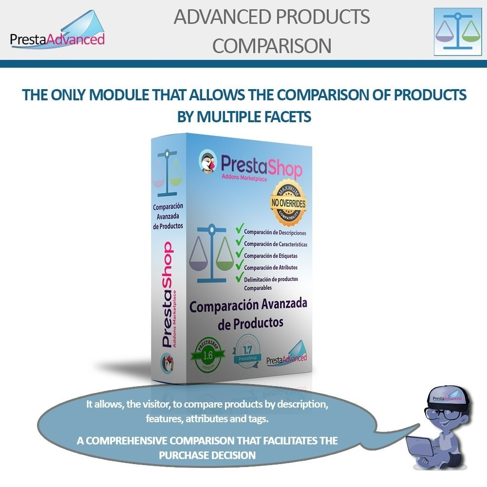 module - Comparatori di prezzi - Advanced Product Comparison - 1