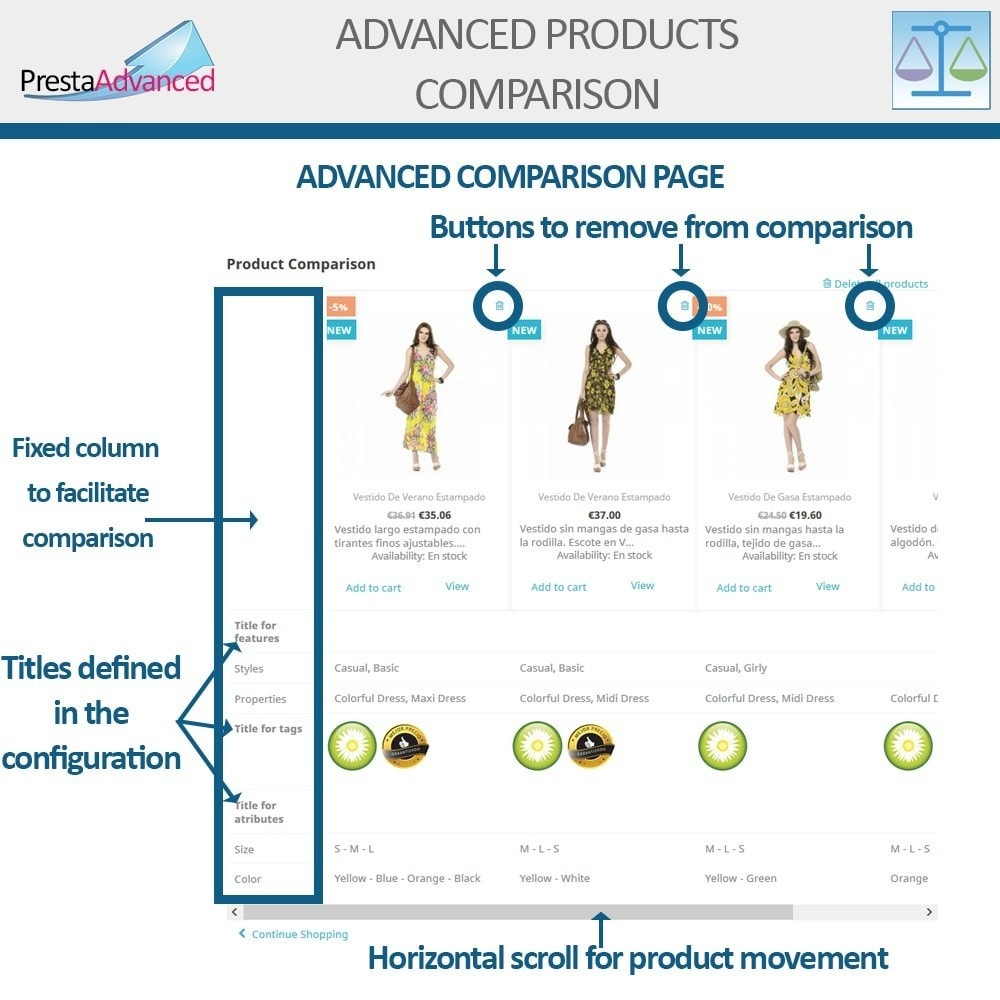 module - Comparatori di prezzi - Advanced Product Comparison - 9