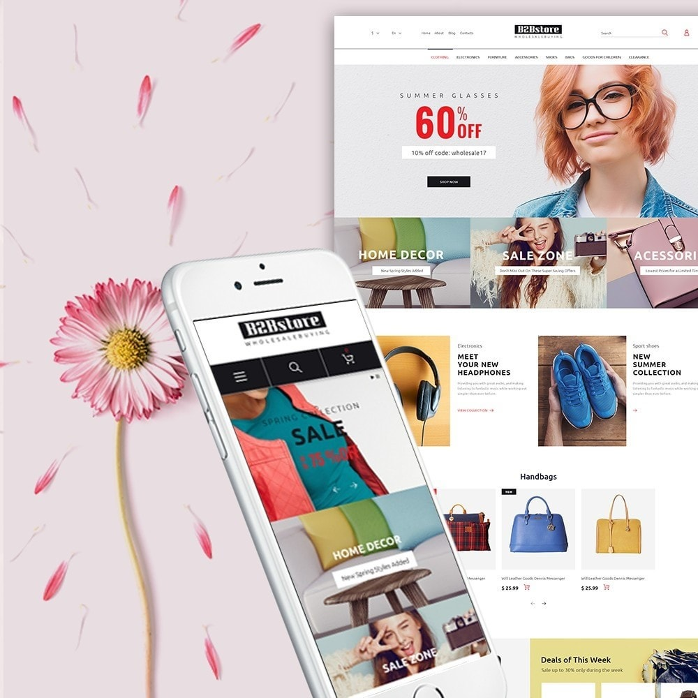 theme - Fashion & Shoes - B2Bstore - 1