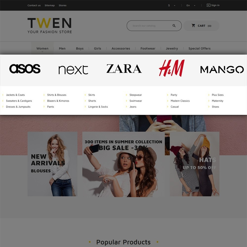 theme - Mode & Schuhe - Twen - Fashion Store Responsive - 5