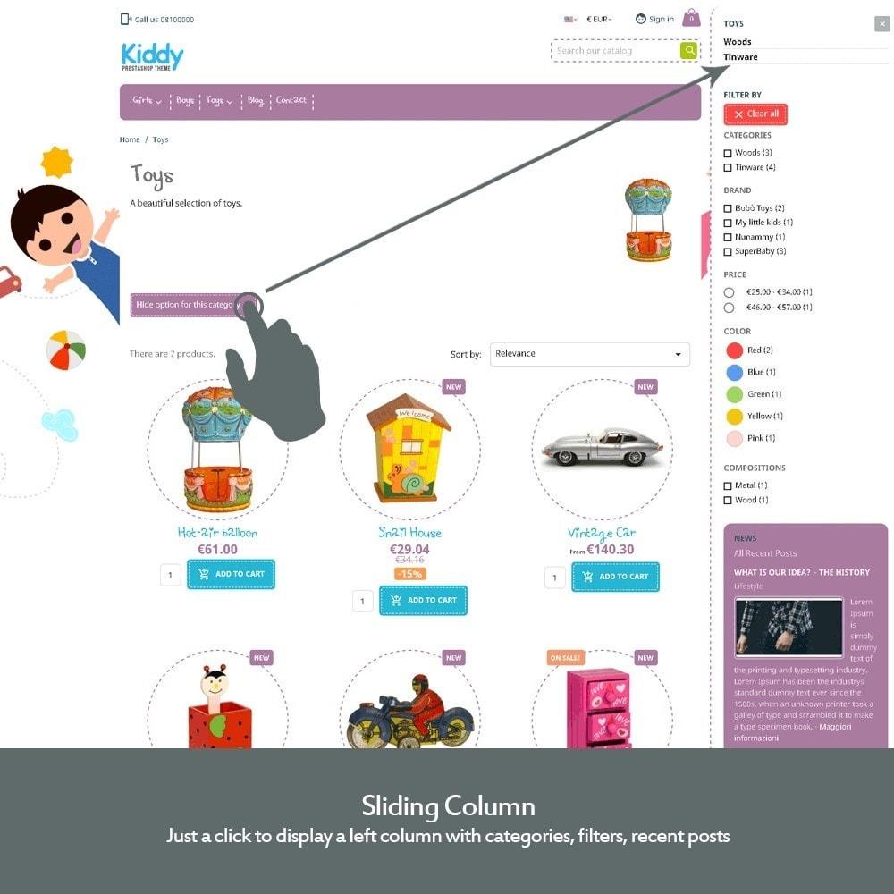 theme - Niños y Juguetes - Kiddy - Tienda Infantil - 4