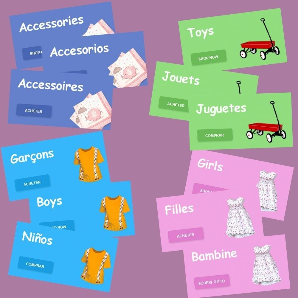 theme - Niños y Juguetes - Kiddy - Tienda Infantil - 8