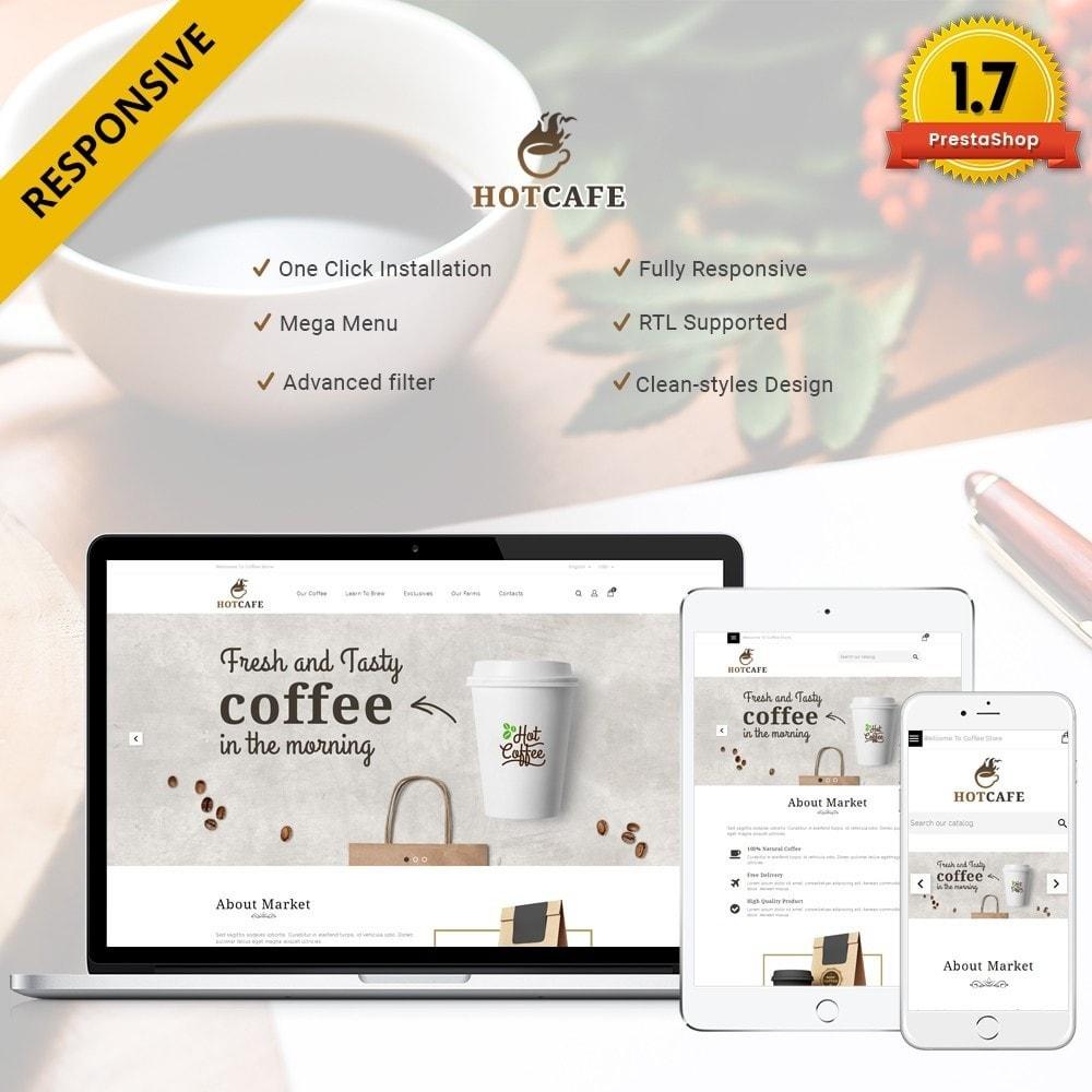 theme - Напитки и с сигареты - Hotcafe coffee store - 1