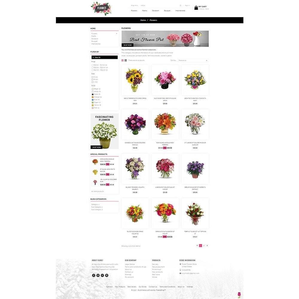 theme - Cadeaux, Fleurs et Fêtes - Floret Flower Store - 3