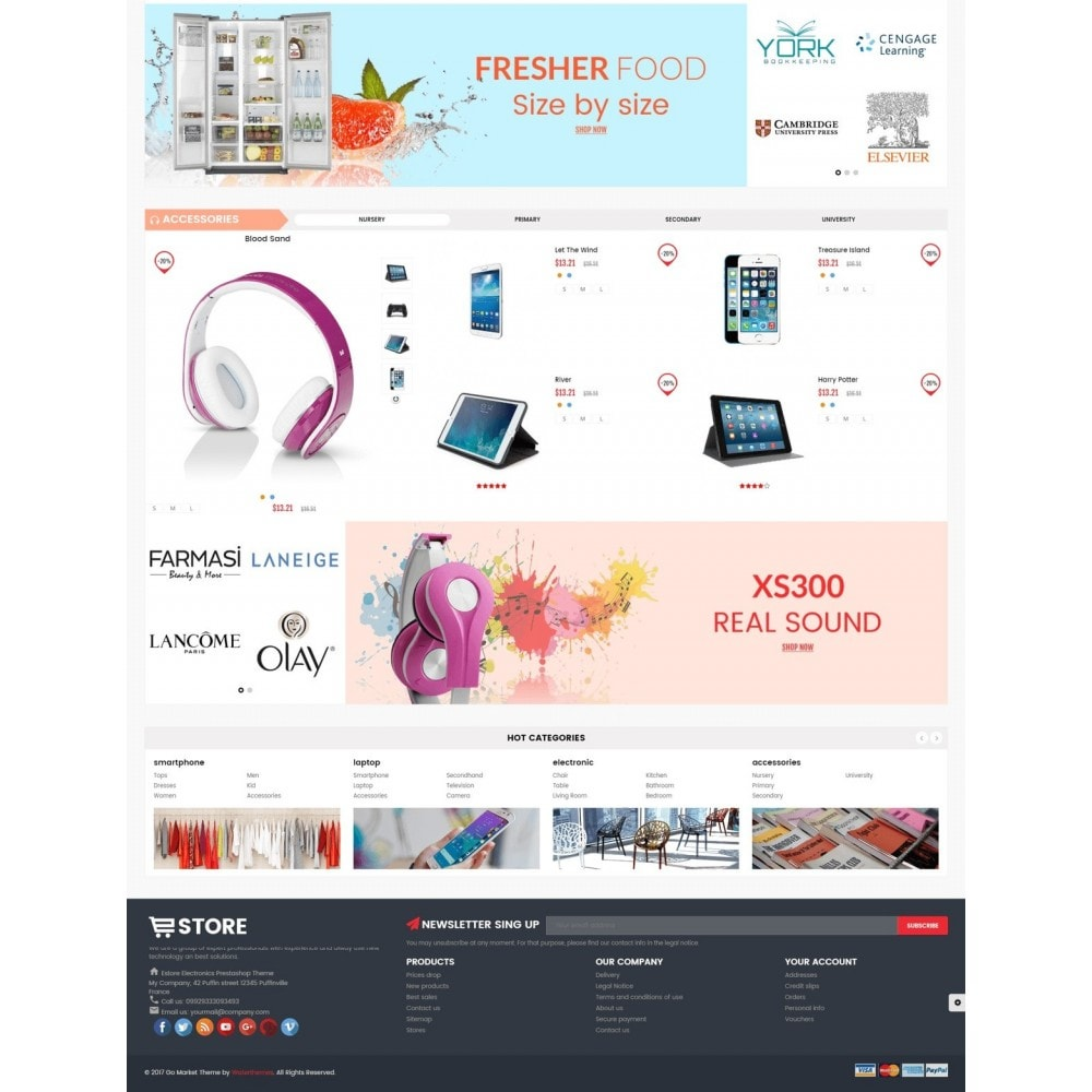 theme - Electronique & High Tech - Electronic And Computer Estore - 5