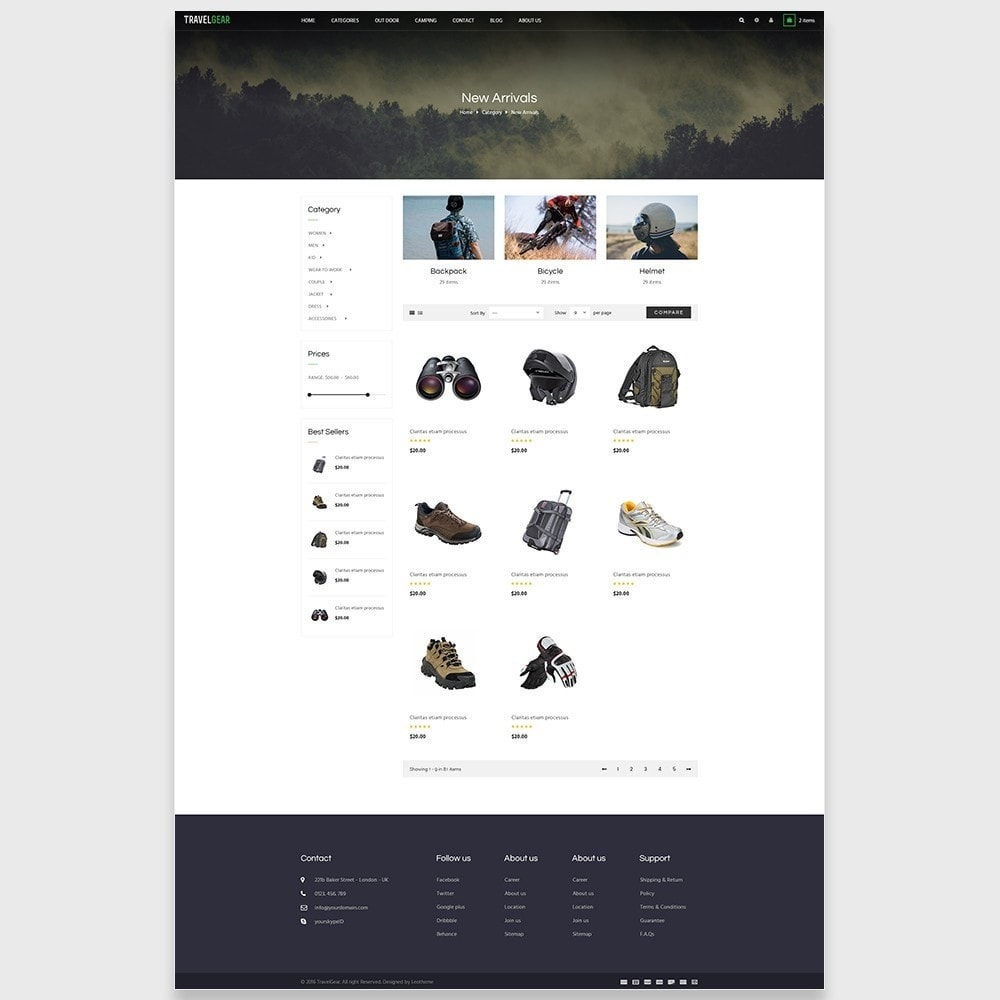 theme - Moda & Calzature - Leo Travelgear - 6