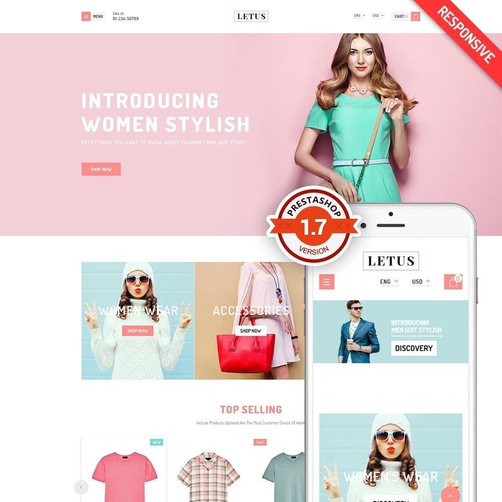 theme - Fashion & Shoes - JMS Letus 1.7 - 1