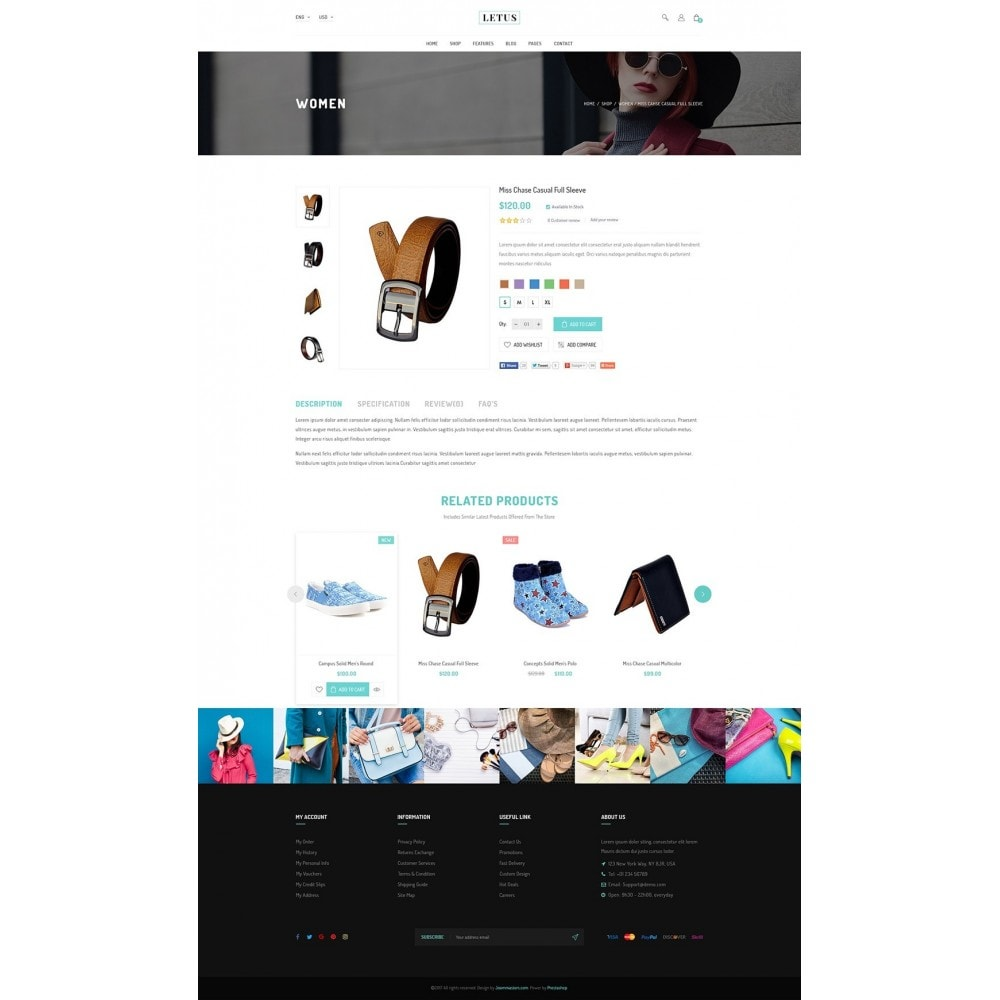 theme - Мода и обувь - JMS Letus 1.7 - 10