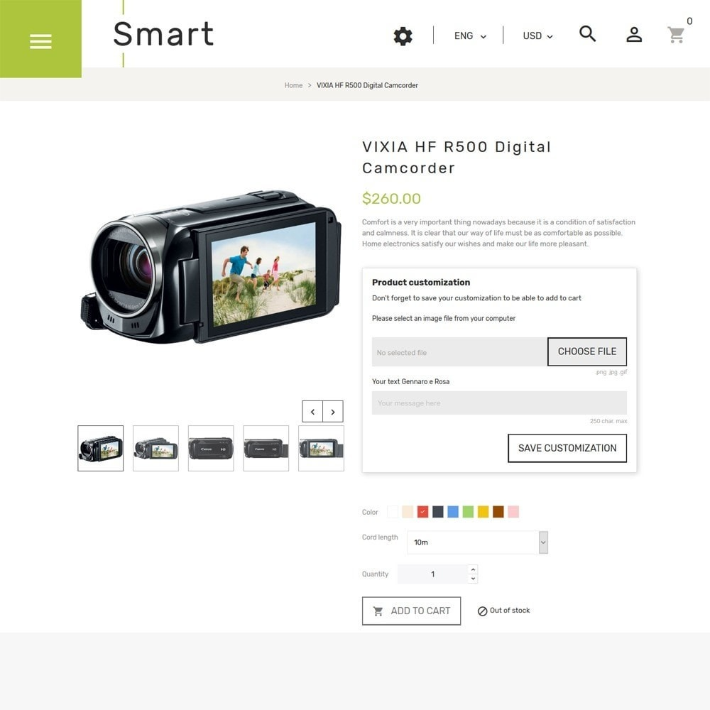 theme - Electronics & Computers - Smart - Gadgets & Electronics PrestaShop 1.7 Theme - 3