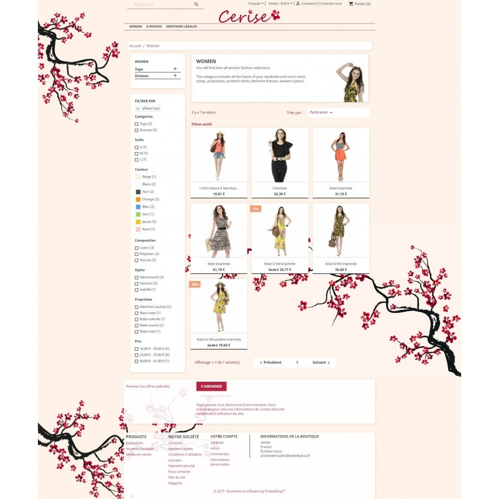 theme - Bellezza & Gioielli - Cherry - 6