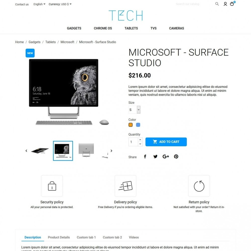 theme - Electronics & Computers - Tech - High-tech Shop - 6