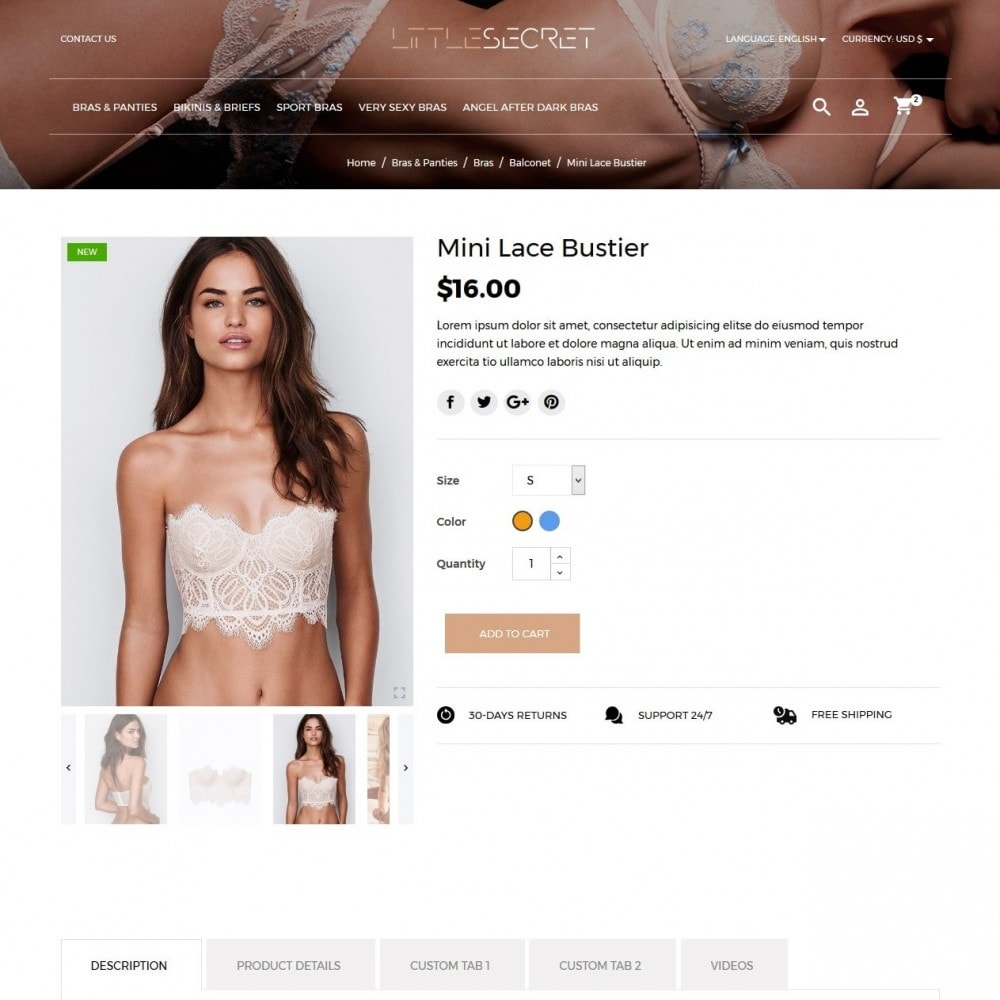 theme - Lenceria y Adultos - Little Secret Lingerie Shop - 5