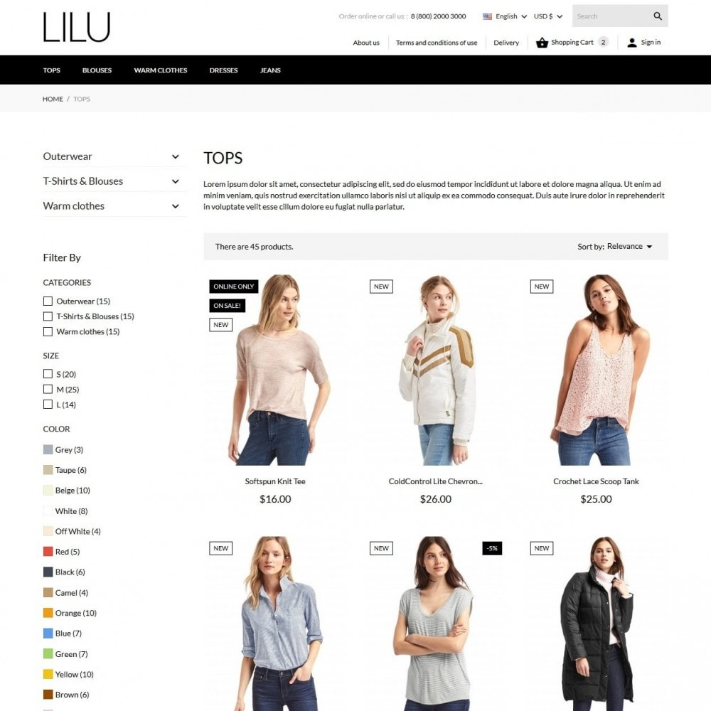 theme - Mode & Schuhe - Lilu Fashion Store - 6