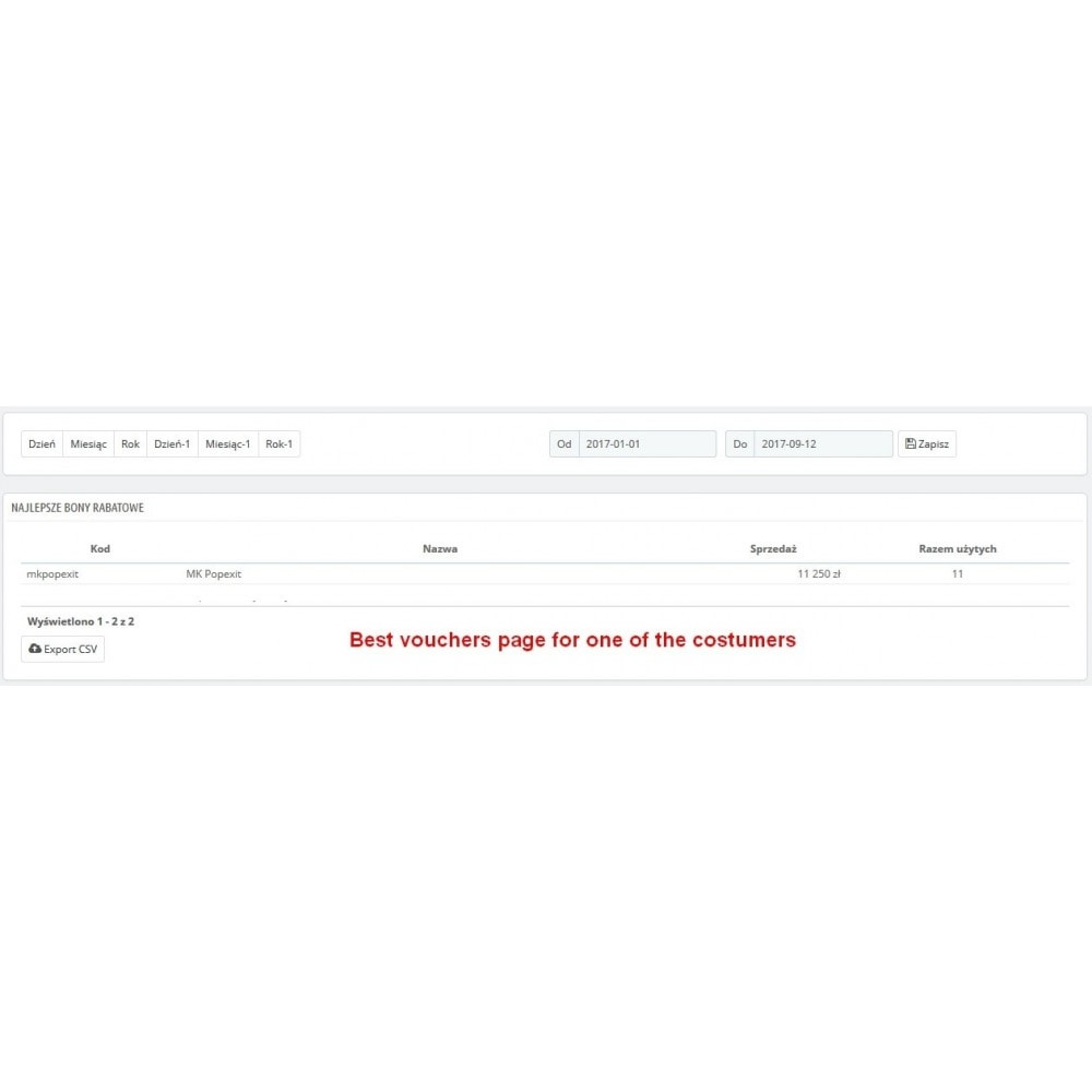 module - Promocje & Prezenty - Zaawansowane okno pop exit - 4