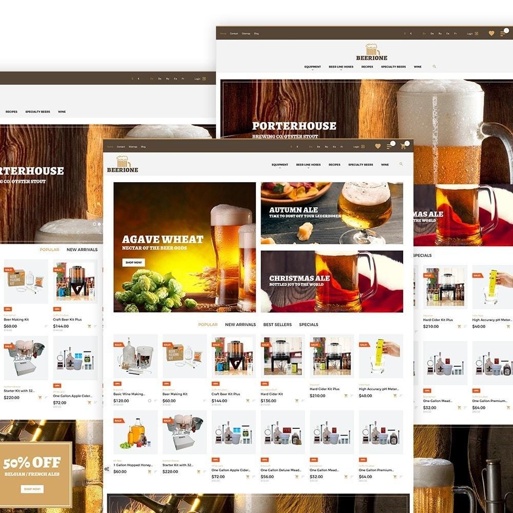 theme - Temas PrestaShop - Tema de PrestaShop para Sitio de Cervecería - 2