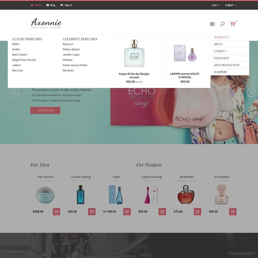 theme - Mode & Chaussures - Axonnie - Magasin de parfums thème PrestaShop - 3